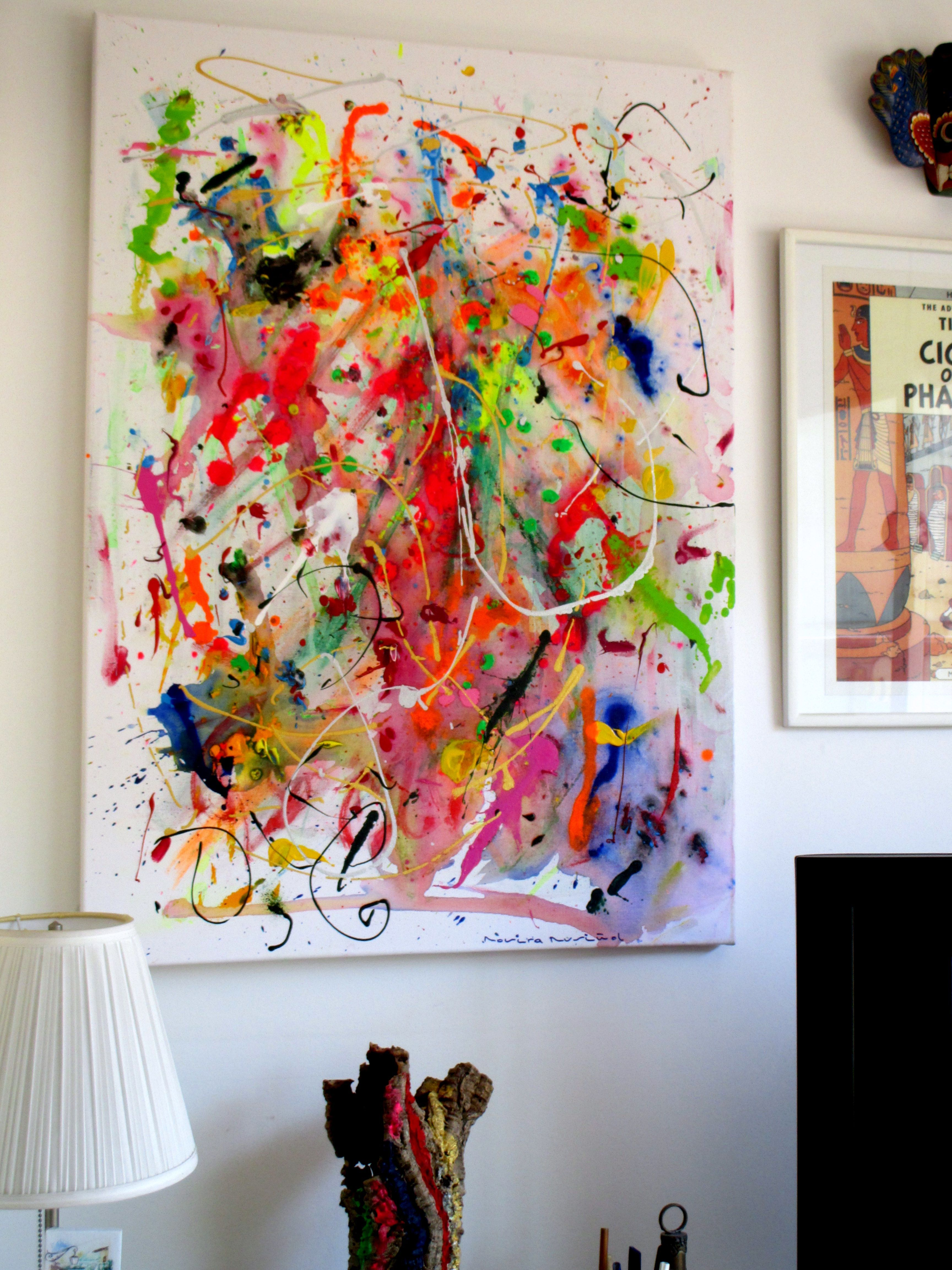 Malen nach Zahlen Abstrakte Kunst 30x40 cm
