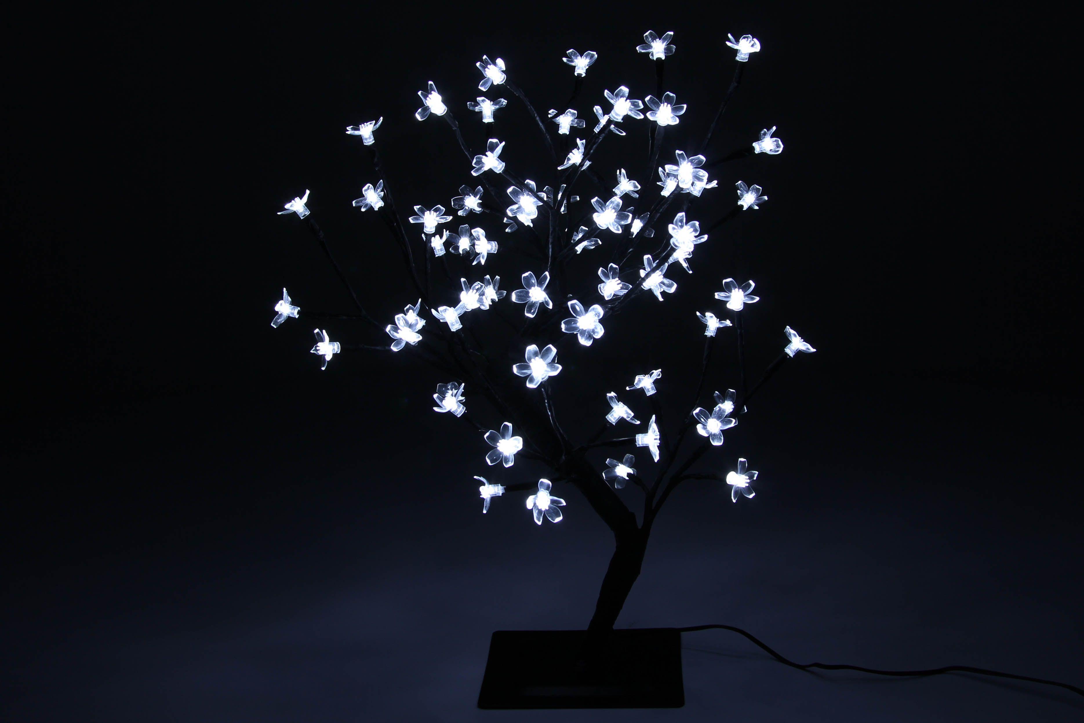 Drzewko Swiecace 64 Led Zimne Biale Bonsai Kwiatki Flowers Plants Dandelion