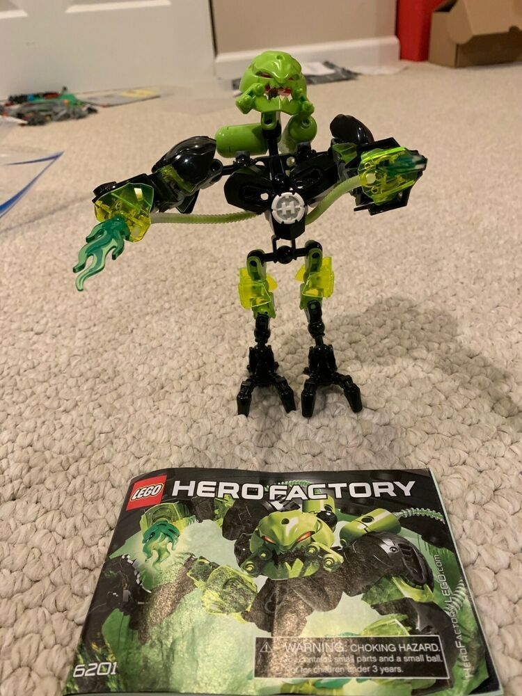 Lego Hero Factory Toxic Reapa Set 6201 Complete With Instructions