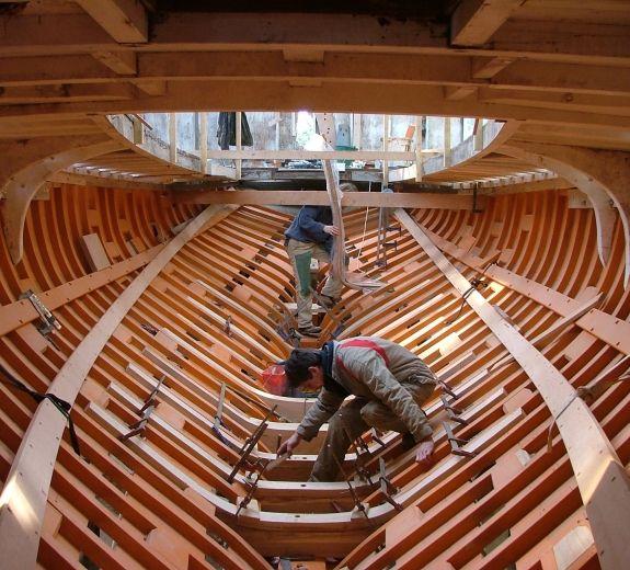 charpente navale bois