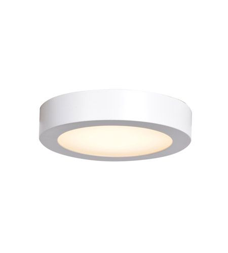 Access 20070ledd Wh Acr Strike Led 6 Inch White Flush Mount