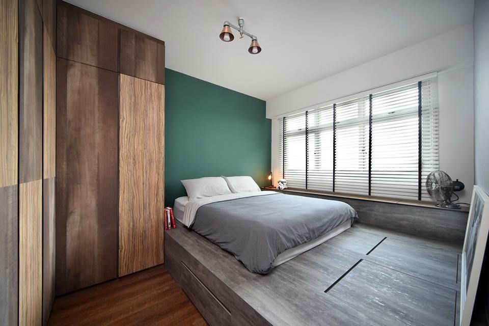 7 Layout Configurations For A Small Bto Master Bedroom Platform