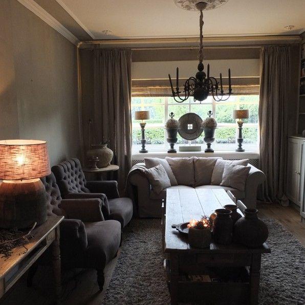 Binnenkijken woonkamer | Styling&Living, ANNIE SLOAN DEALER EN UW ...