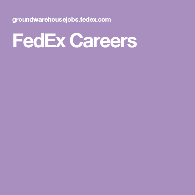 Explore Black Tie, Career, And More! FedEx Careers  Fedex Careers