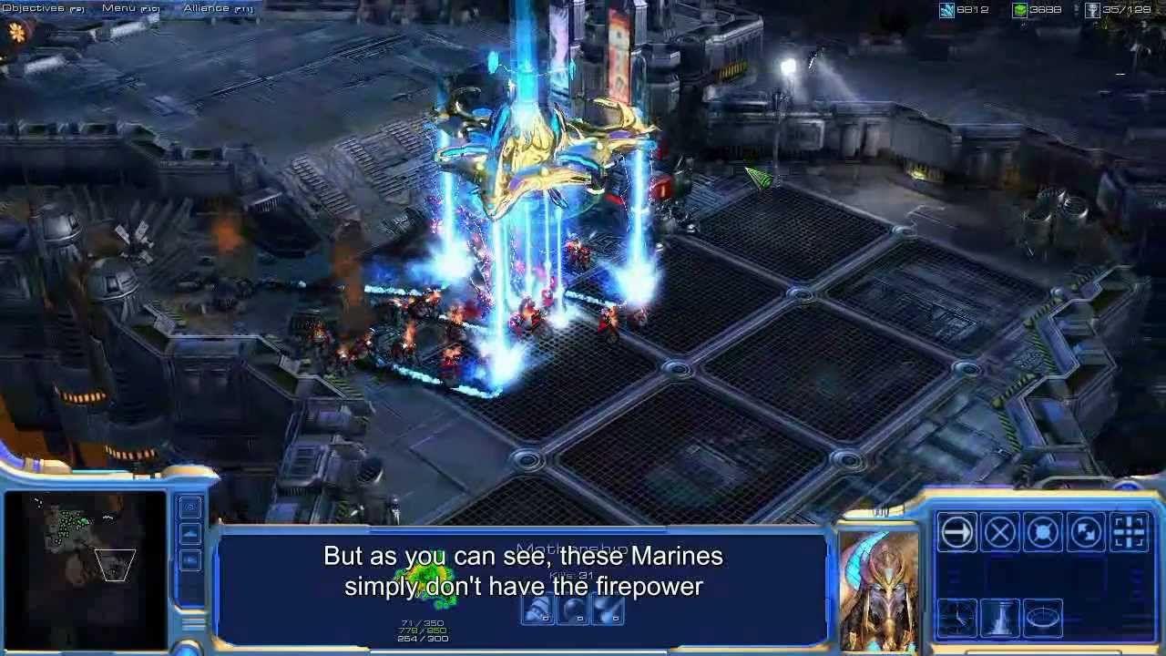 A look back: StarCraft 2 first gameplay #games #Starcraft