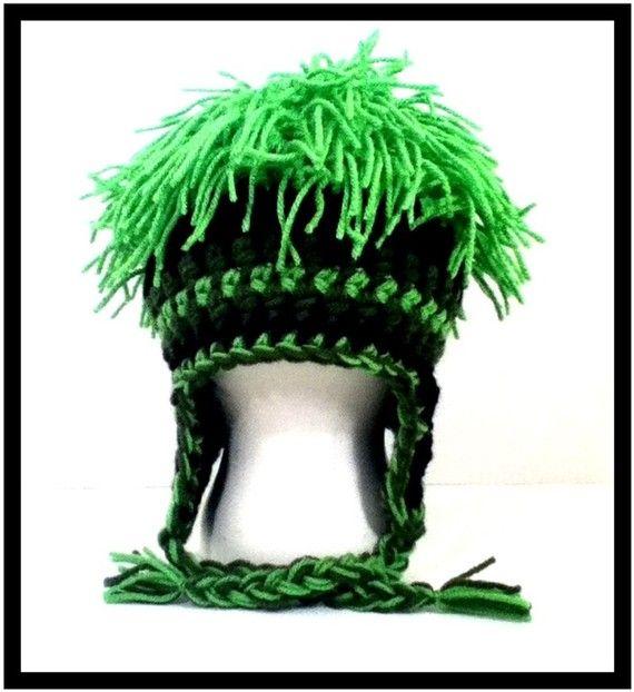 Mop top crazy crochet hat   Groovvykindalove   Pinterest   Mütze
