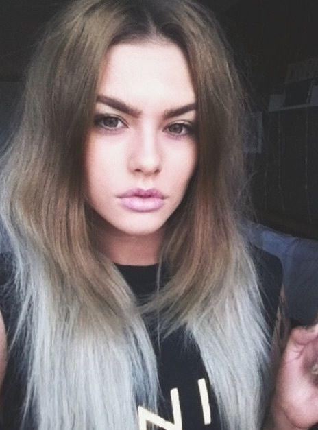 Light Ash Brown Hair Blue Eyes
