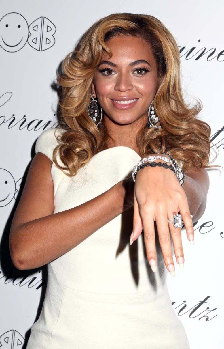 2 Lorraine Schwartz Platinum Diamond Ring Beyonce Wedding Stuff
