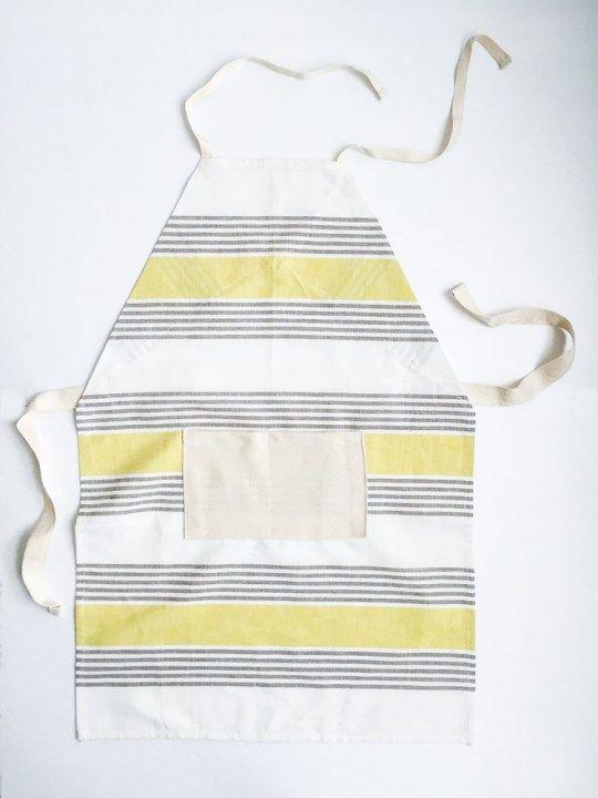 Easy DIY Dish Towel Aprons for Kids | Pinterest