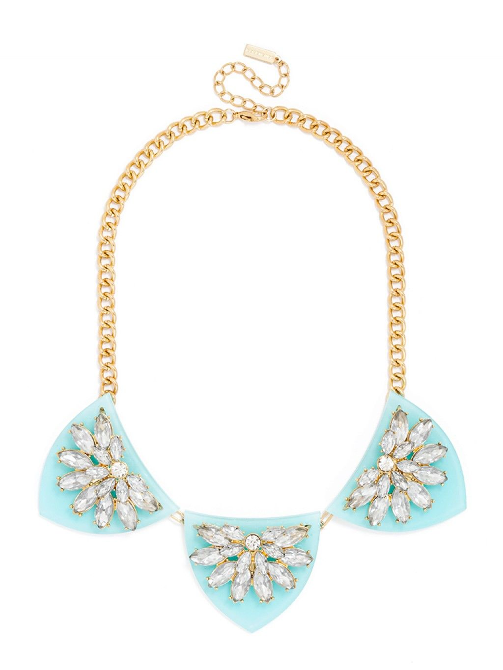 db51a15d4 HI THERE, halcyon acrylic bib necklace // baublebar   coveted ...