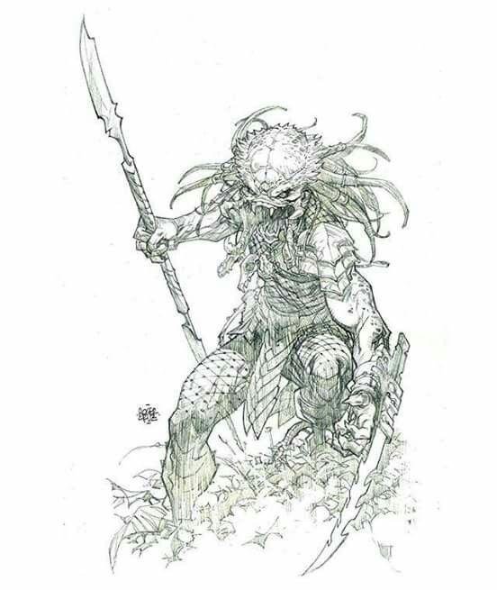 predator #fanart #sketch by rogercruz | Predator | Pinterest ...