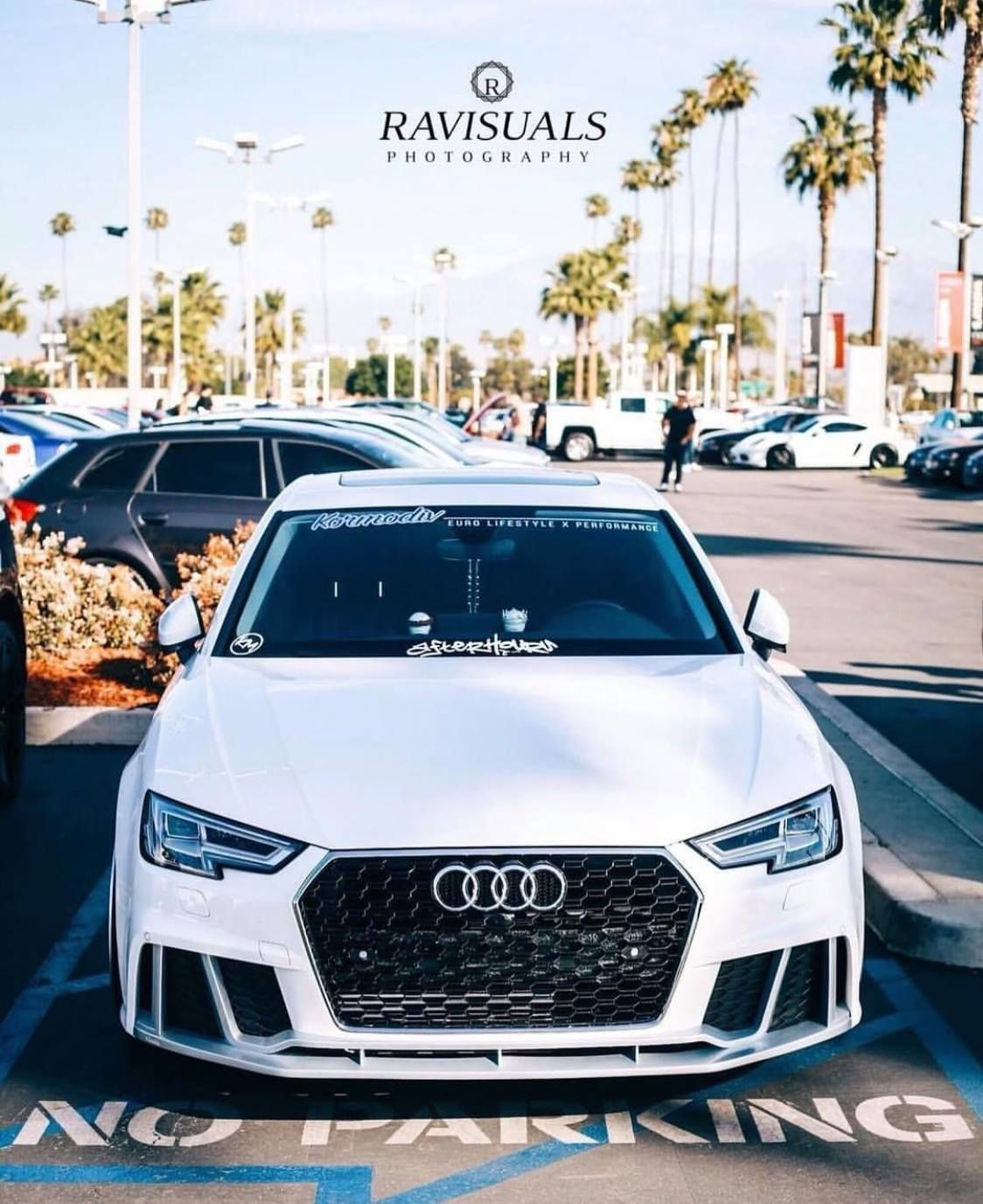 Bkm Front Grille With Black Frame Rs4 Style Fits Audi A4 S4 B9