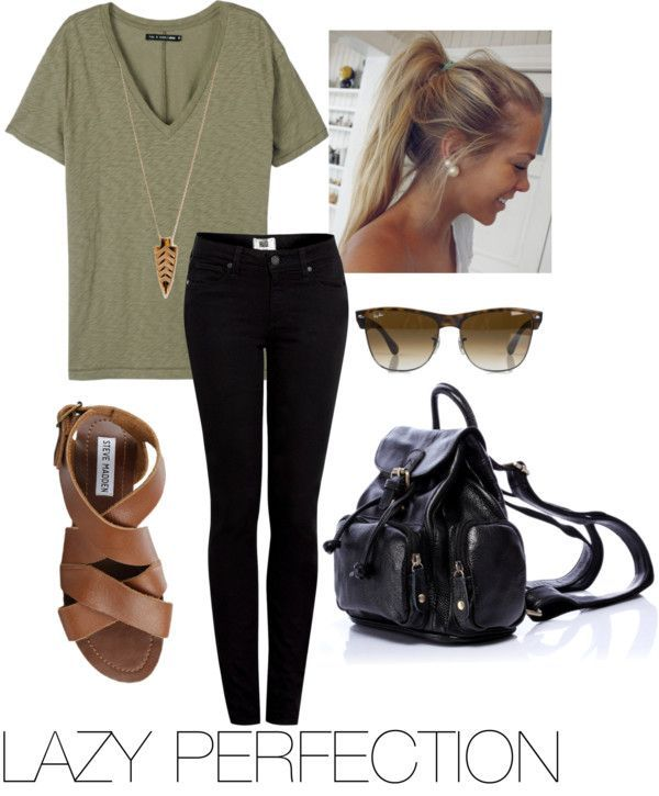83bde001ccc 15 Cute Lazy Day Outfits for Lazy Girls-Fashion Ideas   Tips