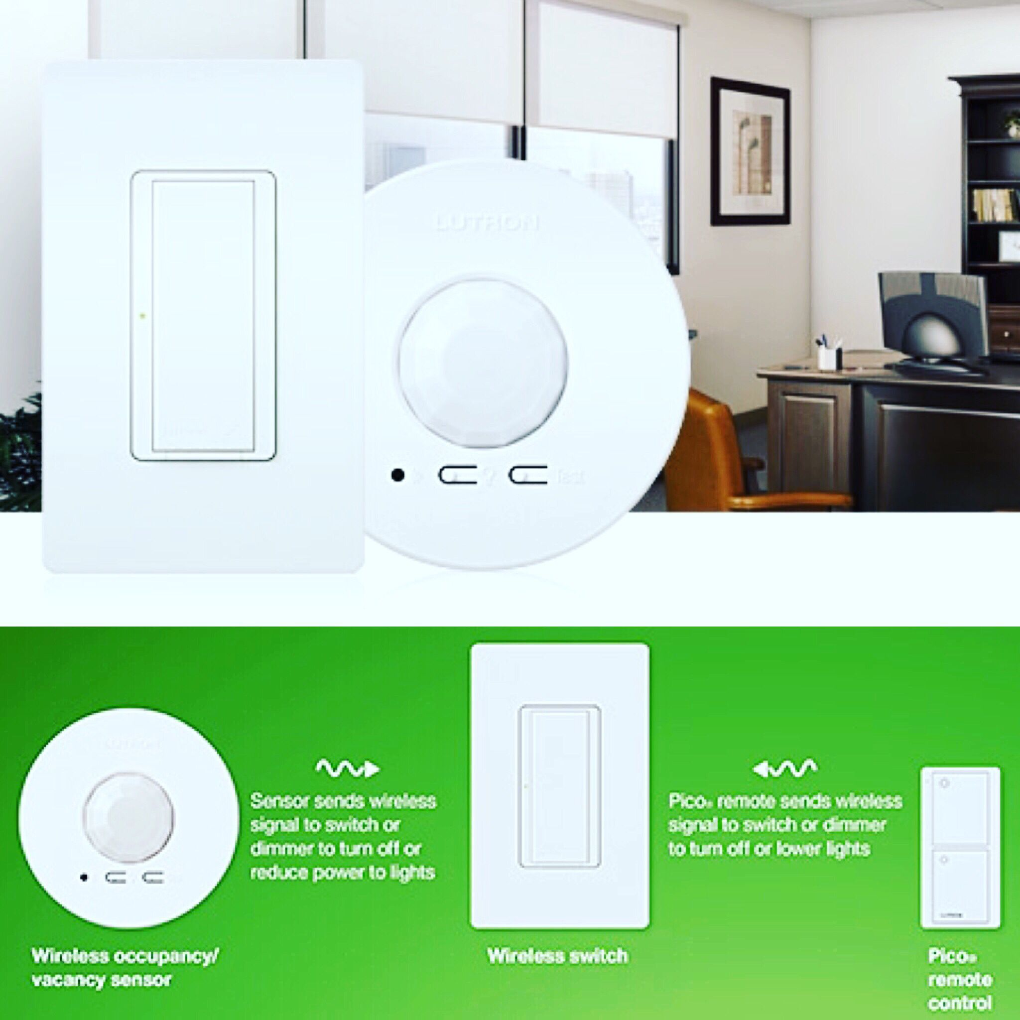 Lutron Energi Tripak Switches Sensors Install 70 Faster Than Wired Lighting Systems Help You Save Lighting Control System Wireless Lights Home Automation