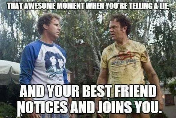 That Moment When You Re Telling A Lie Military Humor Military Memes Step Brothers