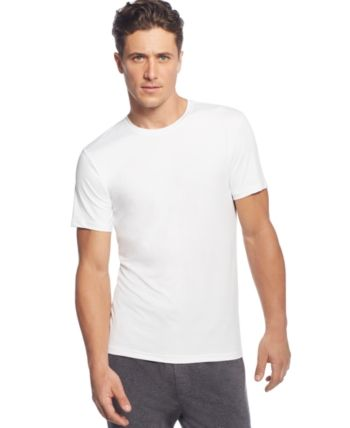 a705c597a 32 Degrees Men's Cool Ultra-Soft Light Weight Crew-Neck T-Shirt - White XXL