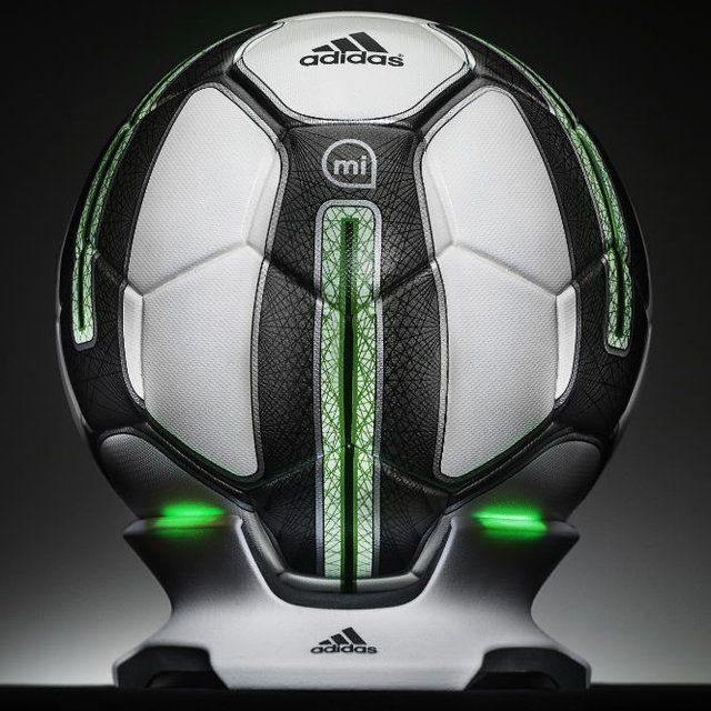 buffet George Bernard Lamer  Micoach Smart Soccer Ball by Adidas | Pelota de fútbol, Balones, Balon de  futbol