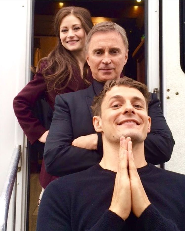 Emilie, Robert and Giles