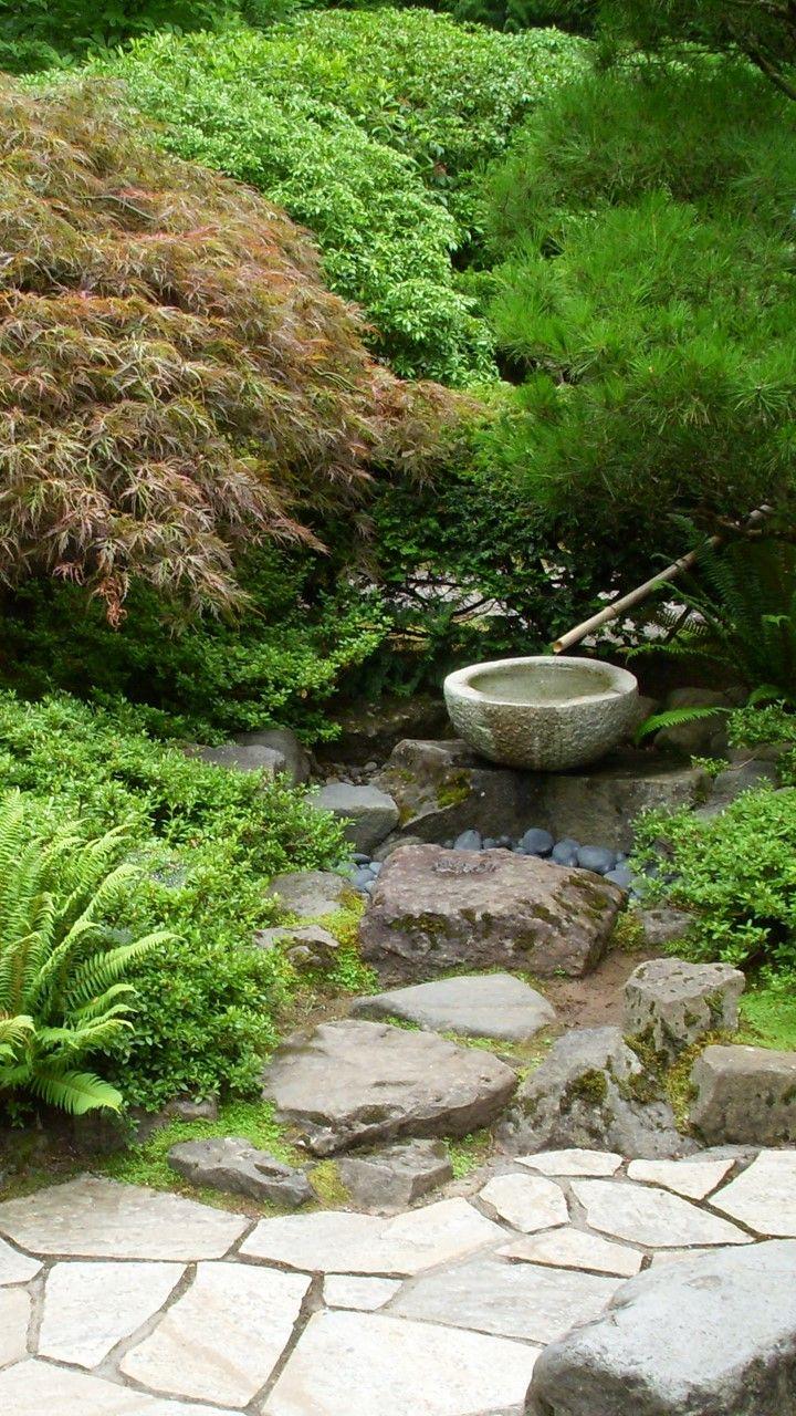 Portland Japanese Garden in Washington Park (Portland