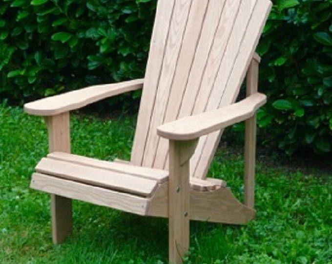 Sedie Adirondack ~ How to make an adirondack chair and love seat