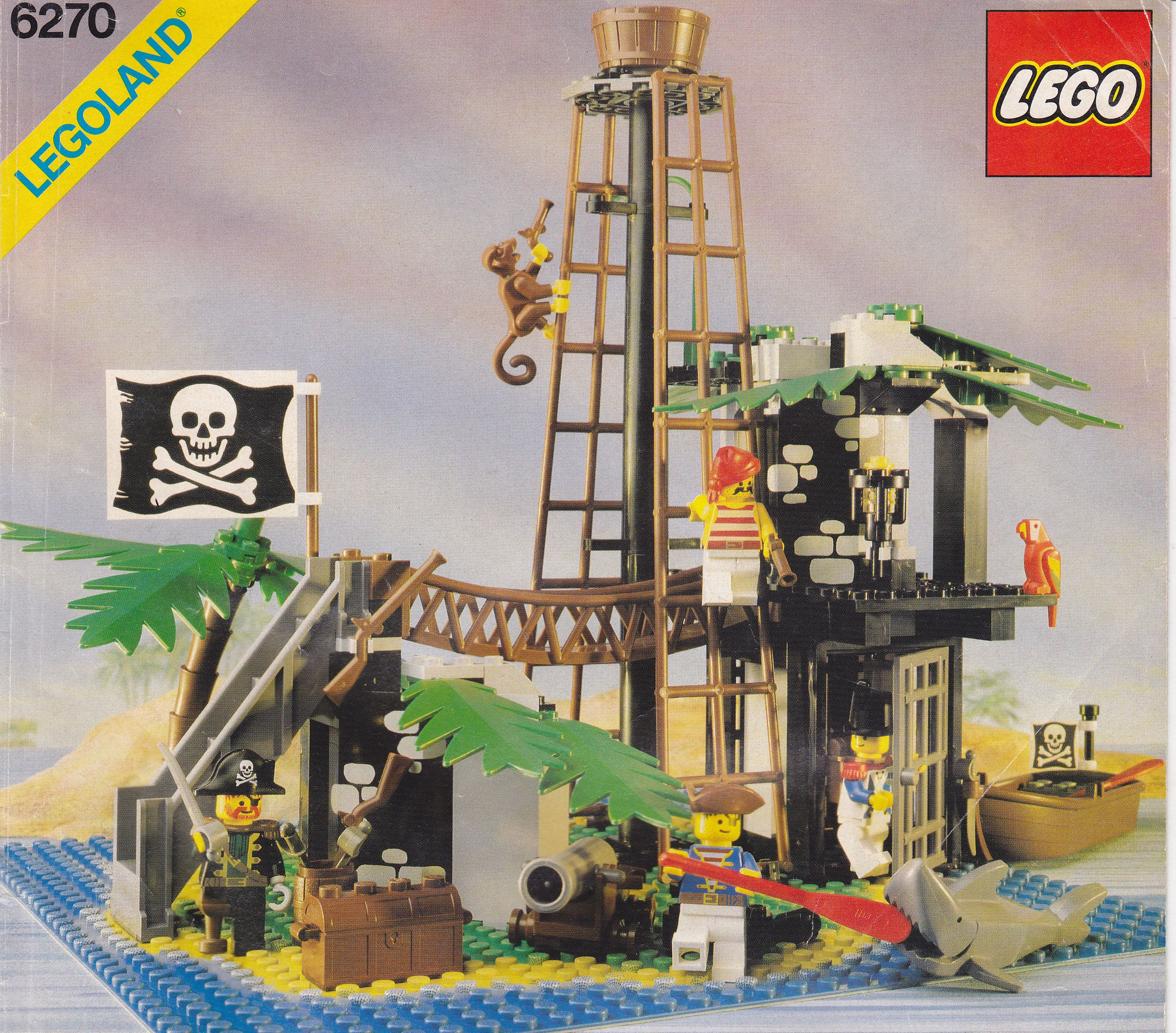 Alte Lego Bauanleitungen