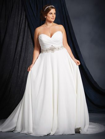 Alfred Angelo 2536 | Brides with Curves | Pinterest | Alfred angelo ...