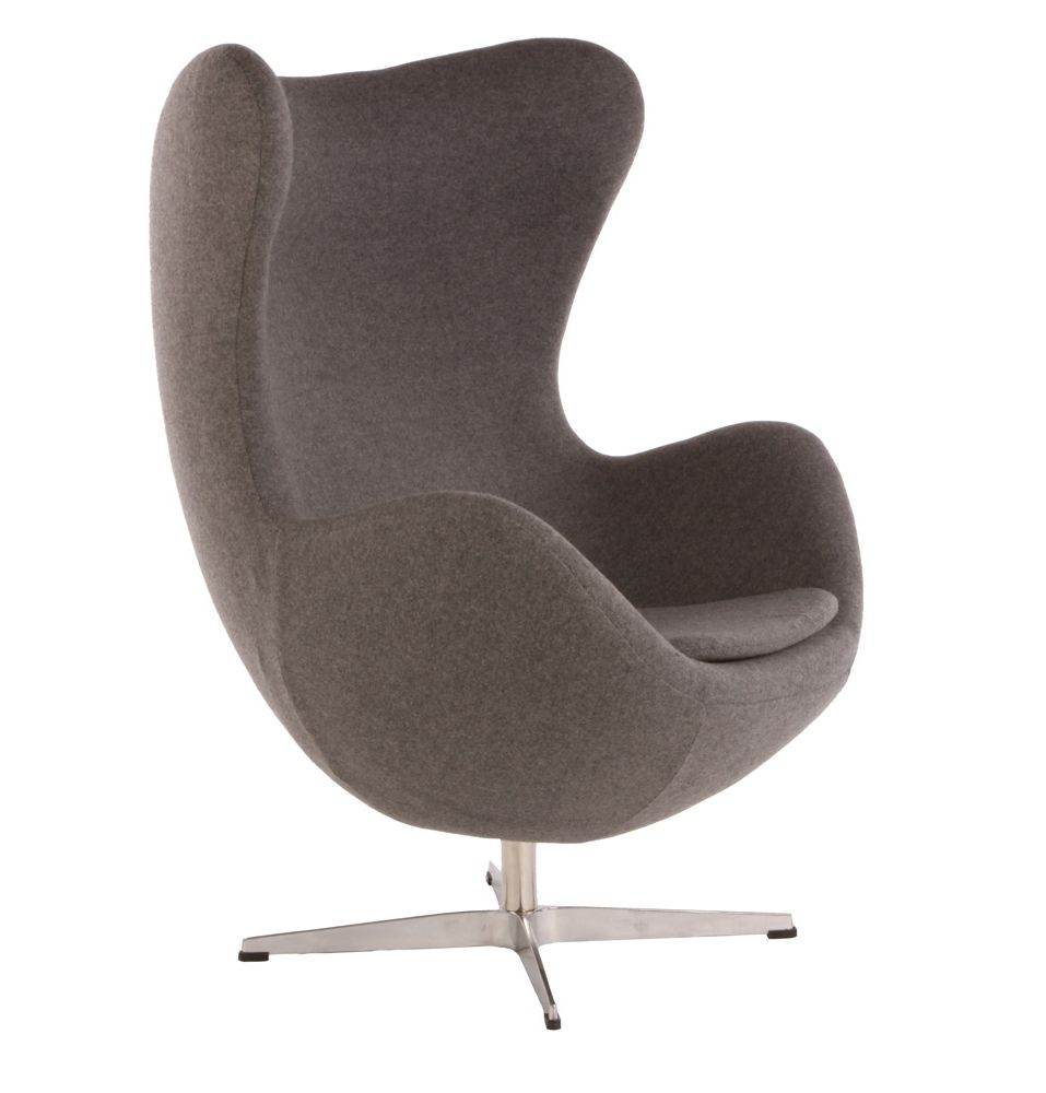 Egg Lounge Sessel Replica Arne Jacobsen Egg Chair By Arne Jacobsen Matt Blatt