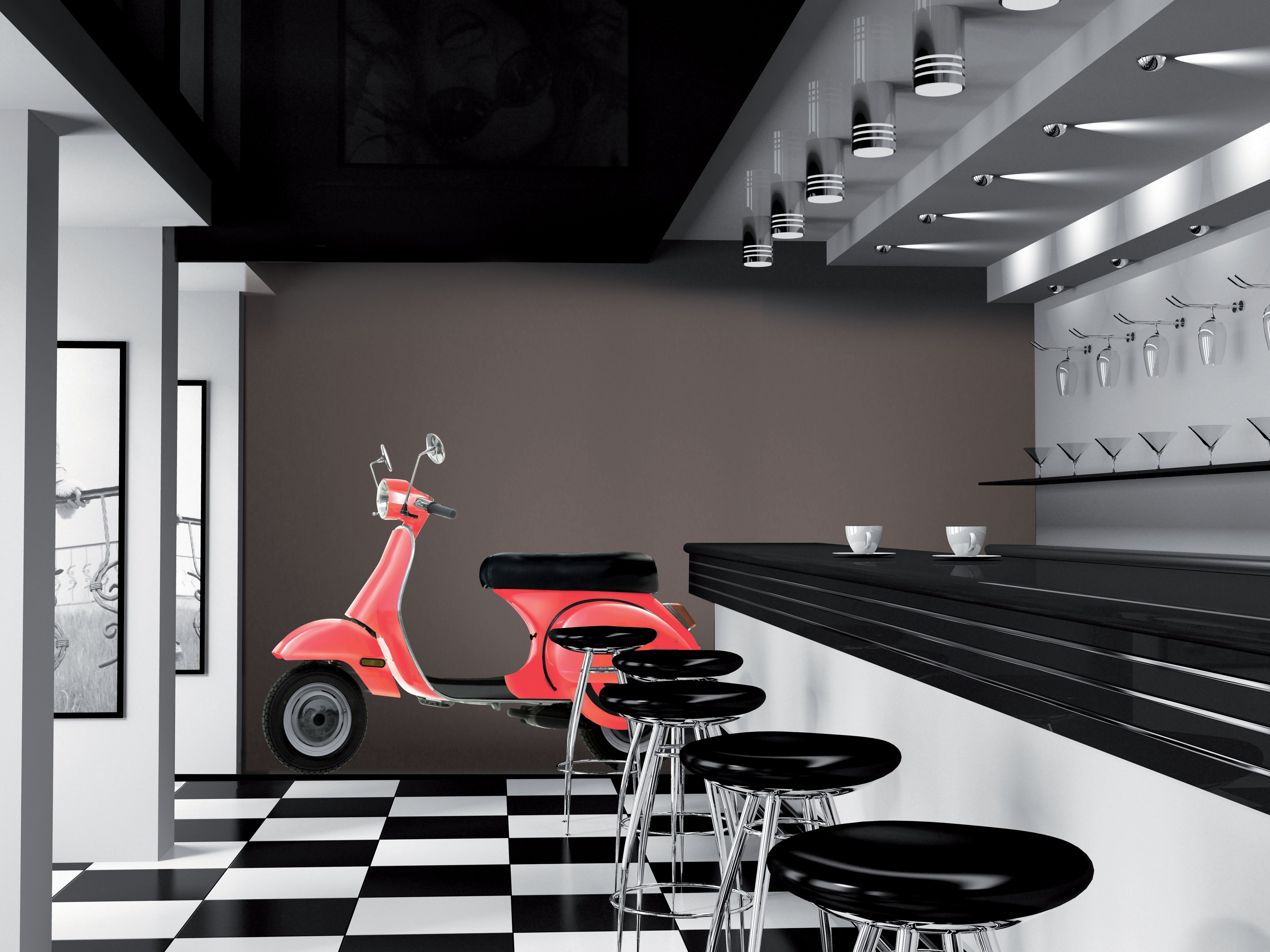 Retro scooter wall sticker room example scooter d 001 retro retro scooter wall sticker room example scooter d 001 amipublicfo Gallery