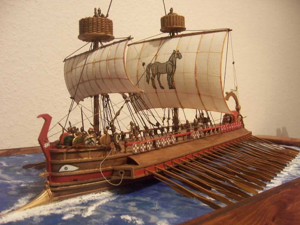 roman ships warships battleships information for roman trireme quadrireme flag ship and other fighting ships [ 1024 x 768 Pixel ]