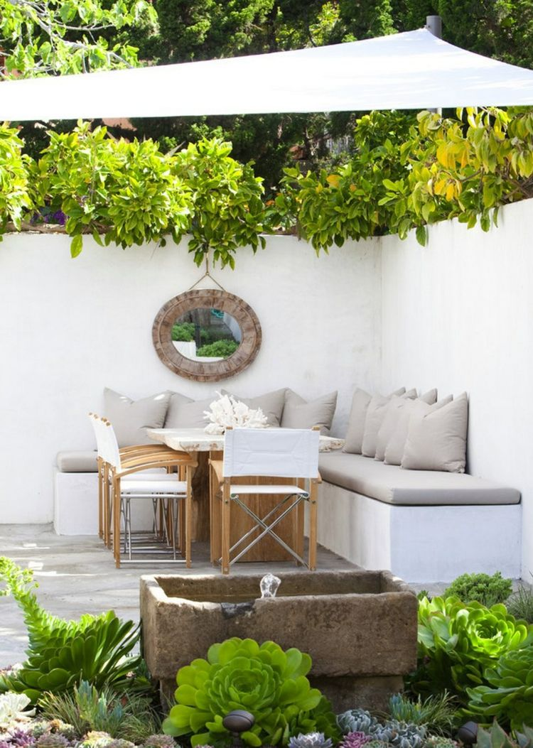 Jardines pequeños ideas modernas 50 diseños.