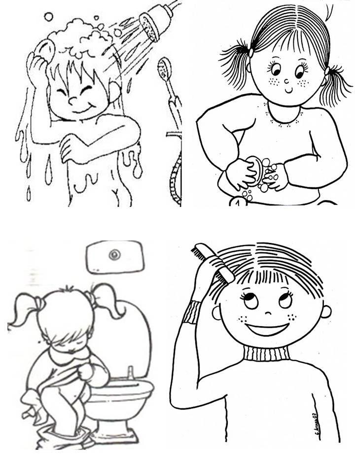 Atividades Higiene Pessoal Educacao Infantil Pesquisa Google