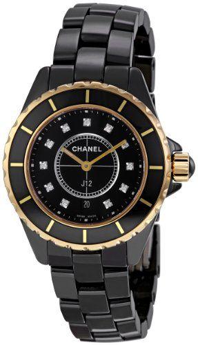 size 40 1458c 854bc Chanel Men's H2543 J12 Diamond Dial Watch « Impulse Clothes ...