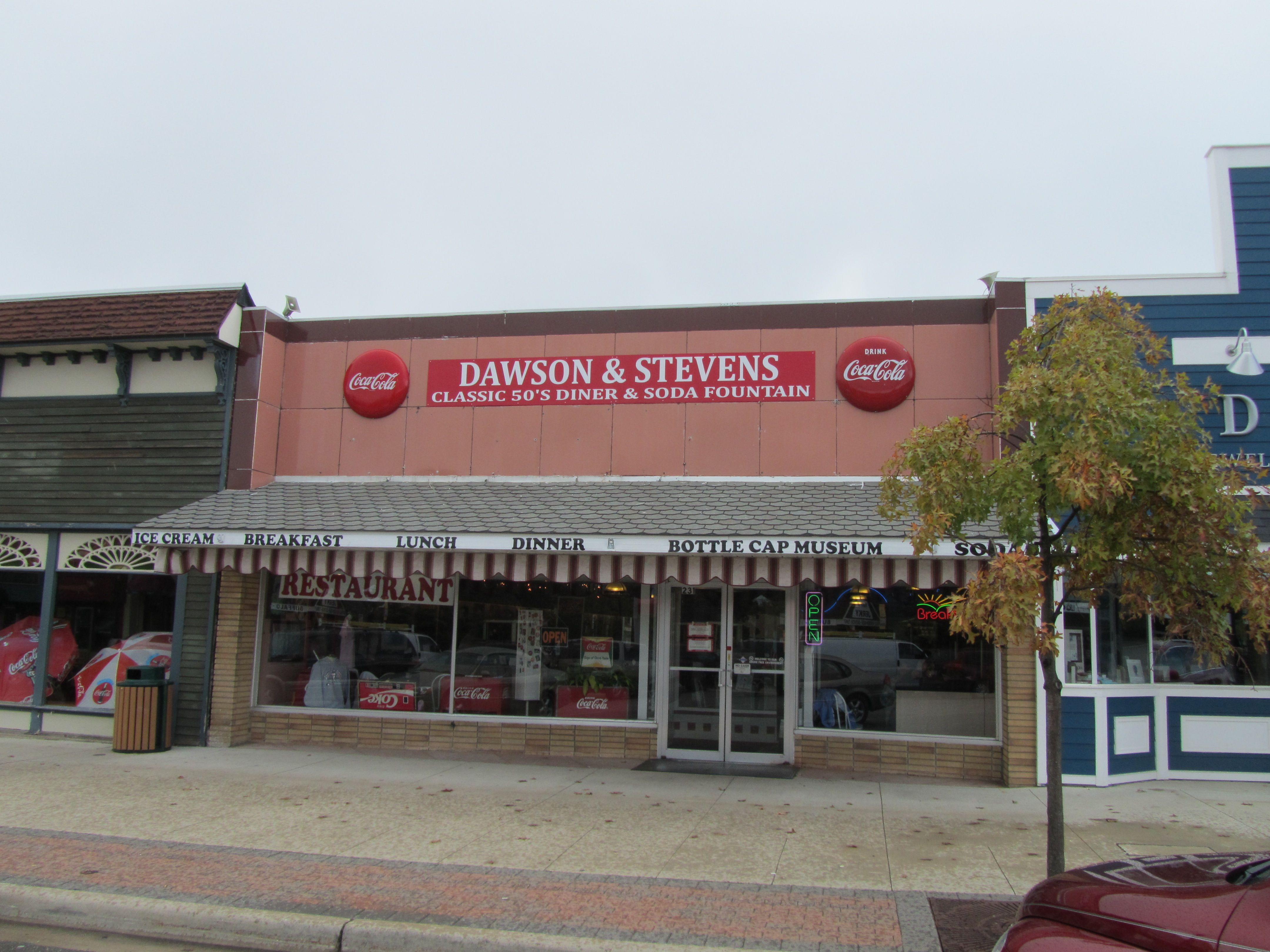Dawson Stevens Clic Diner In Grayling Michigan