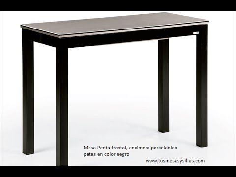 Mesa cocina pequeña Penta para cocinas estrechas o alargadas de ...