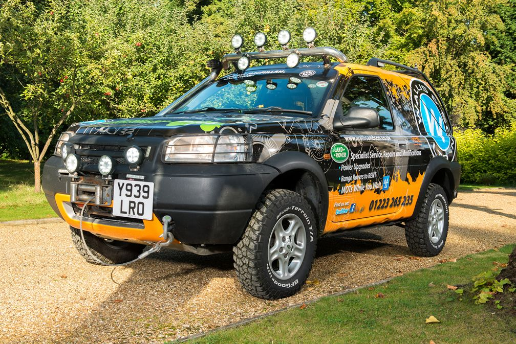 Freelander Car Rentals Cambridge Off Road
