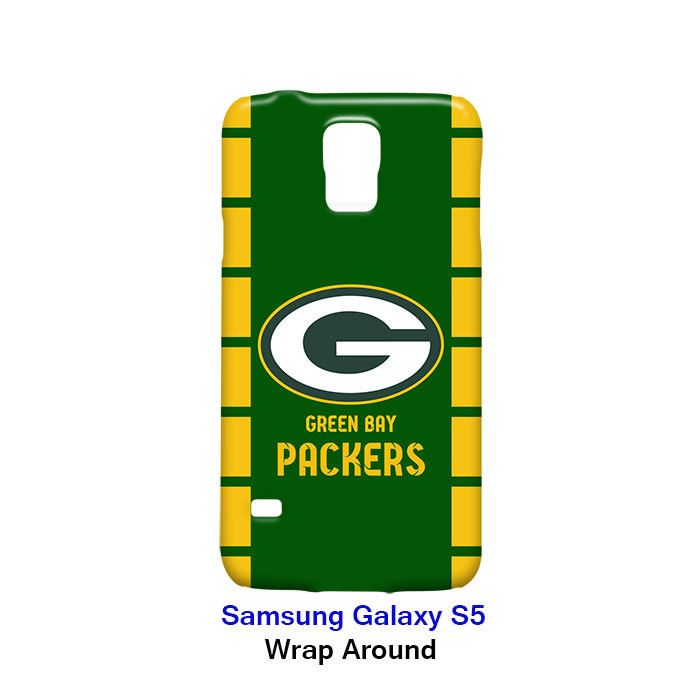 Green Bay Packers Samsung Galaxy S5 Case Cover Wrap Around Samsung Galaxy S5
