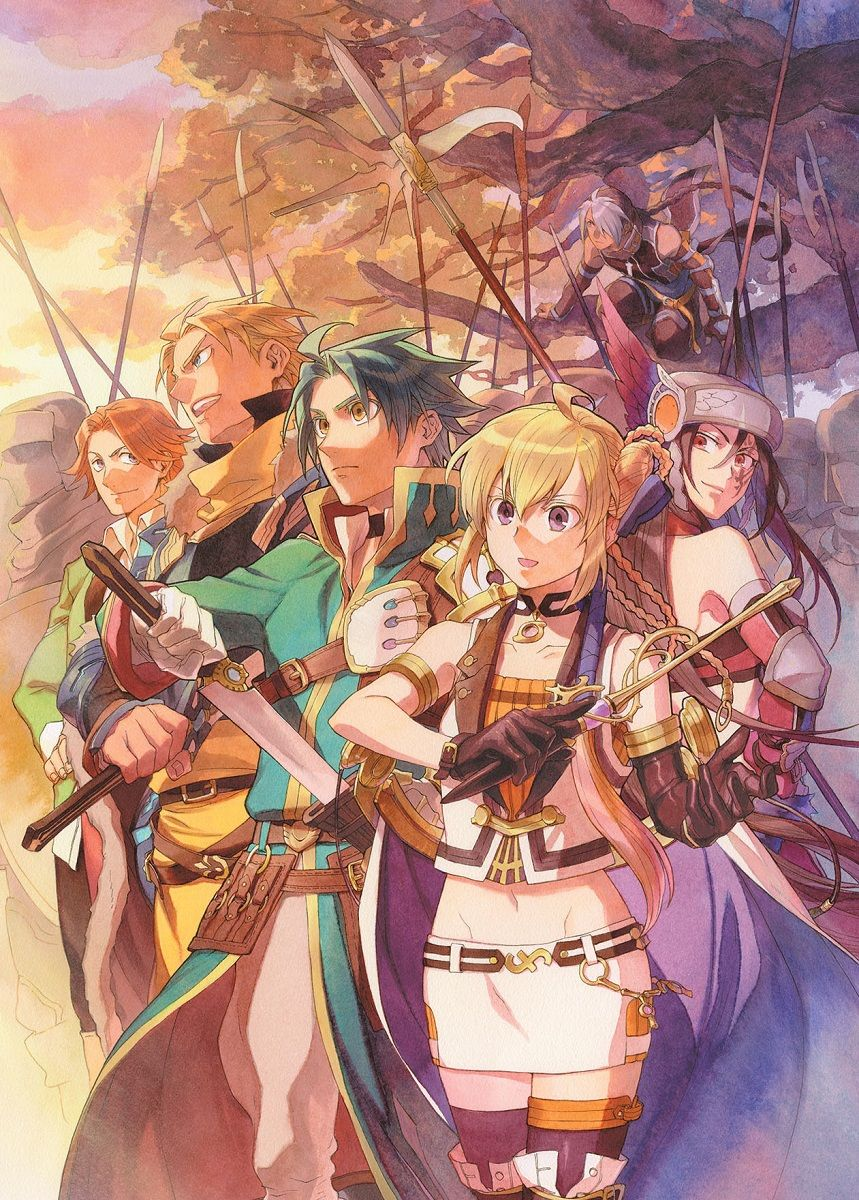 Record of Grancrest War Bluray Volume 1 Anime dubbed