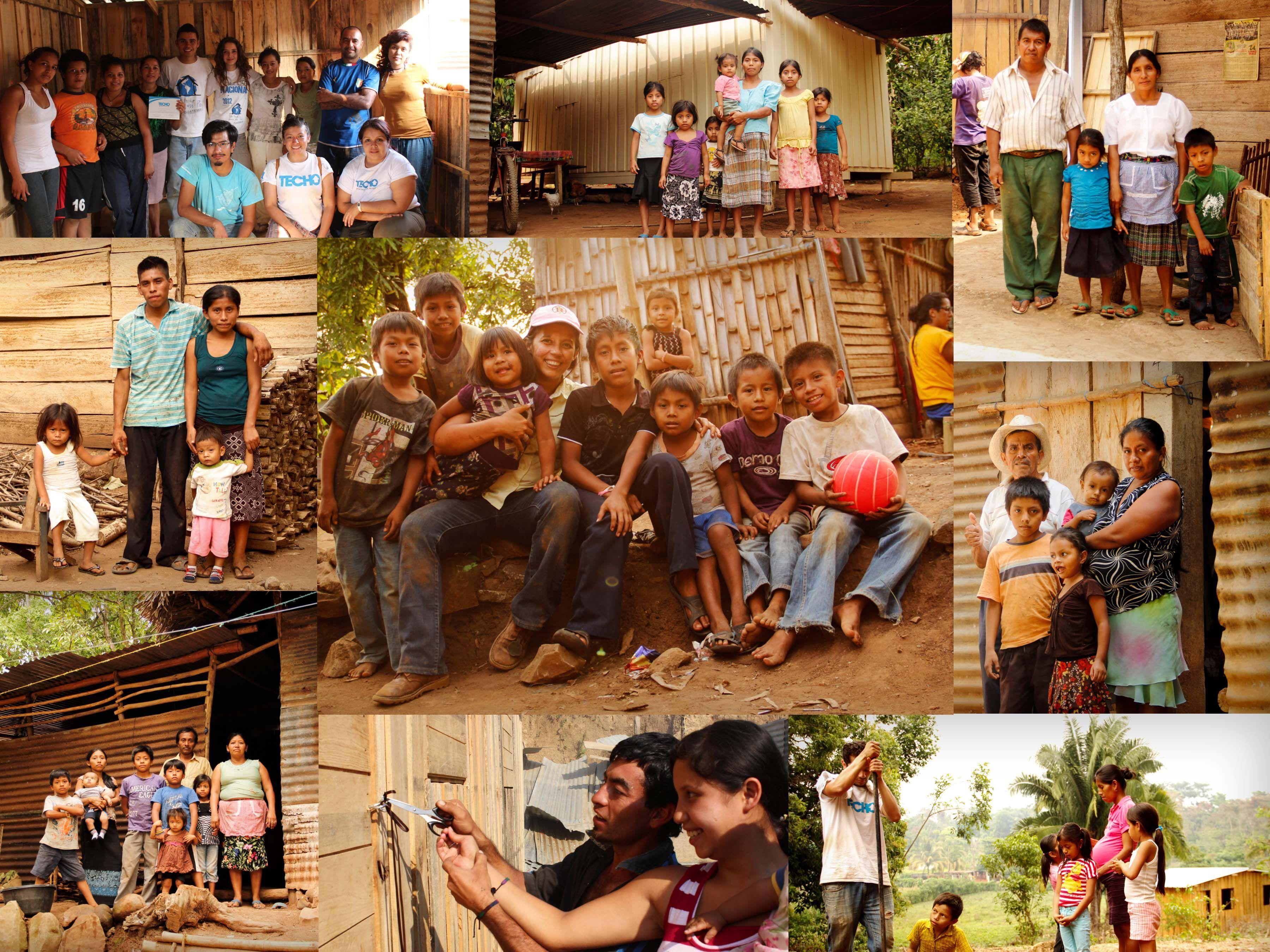 Un hogar esta al lado de la familia.  Trabajando en conjunto con TECHO para mi país. #techo #techogua #guatemala