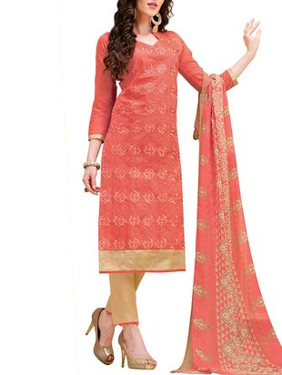 Check out what I found on the LimeRoad Shopping App! You'll love the Orange Cotton Straight Unstitched Suit. See it here http://www.limeroad.com/products/12152316?utm_source=7b2b2a518f&utm_medium=android
