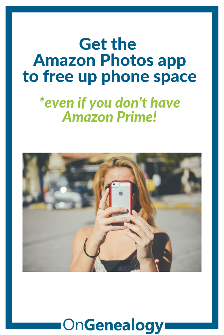 Away from Home? Use Amazon Photos to backup photos & free