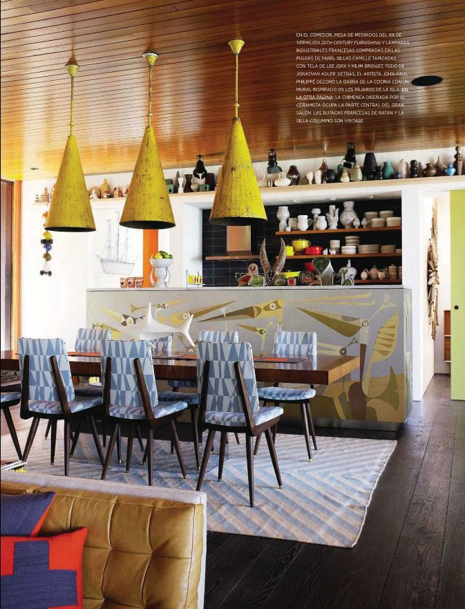 Best Vintage Style Dining Room From Architectural Digest Spain 640 x 480