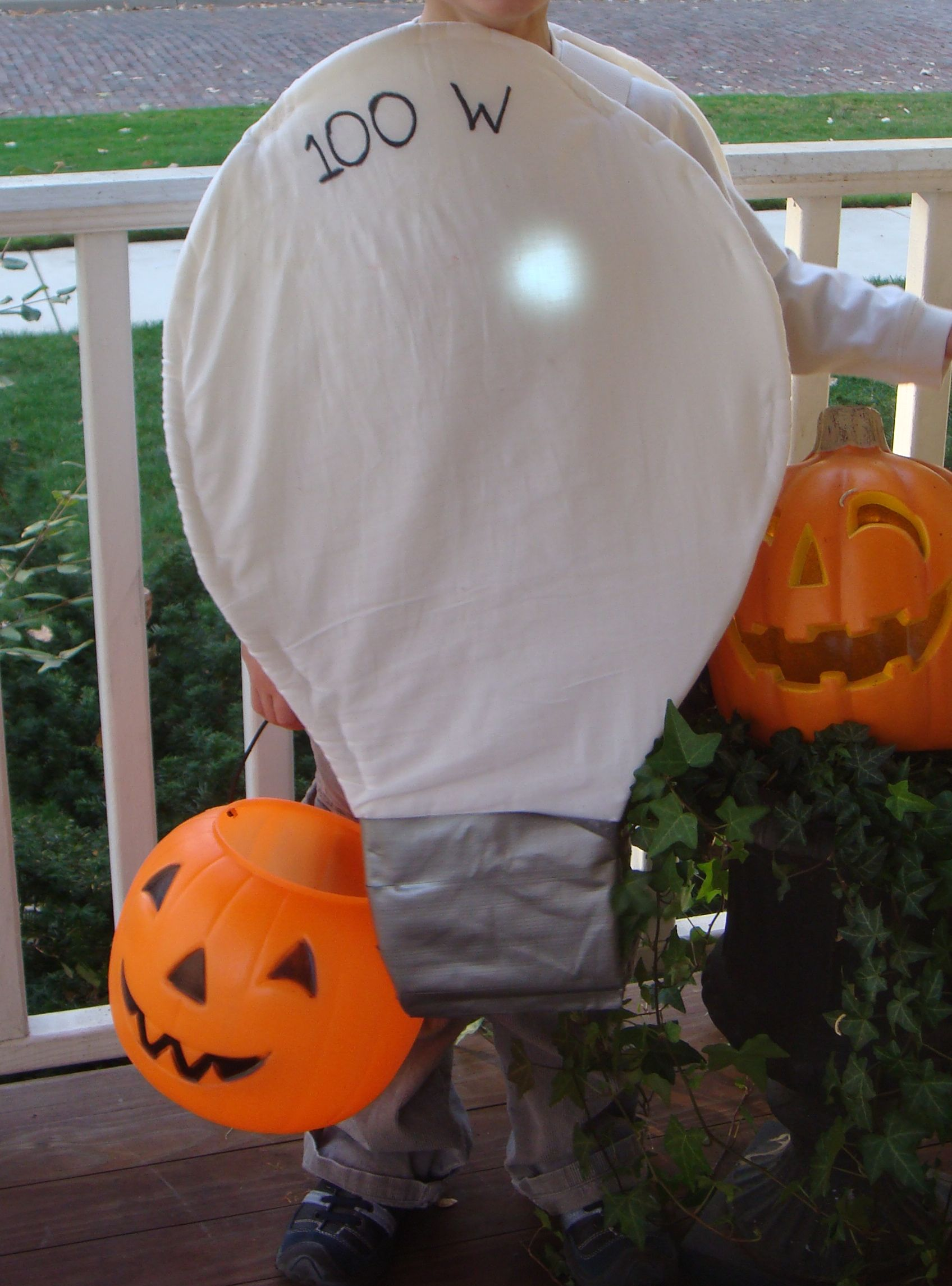 Could Do A Sandwich Board Style Costume Cute Baby Halloween Costumes Halloween Costumes For Sale Light Bulb