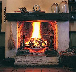 Fireplace In Ireland Casas De Campo Chimeneas Casas