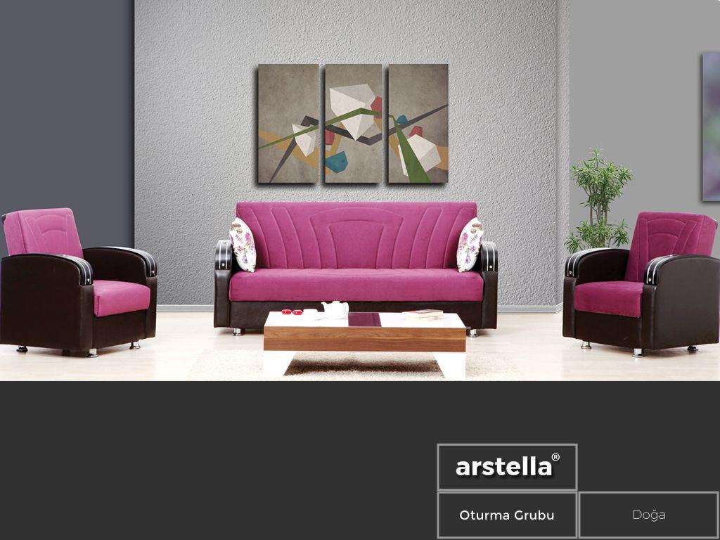 Arstella Adli Kullanicinin Oturma Grubu Panosundaki Pin Tasarim Renkler Luks