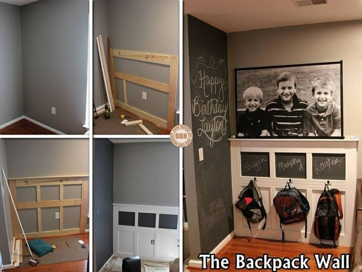 Classroom Backpack Storage   On The Back Walls?