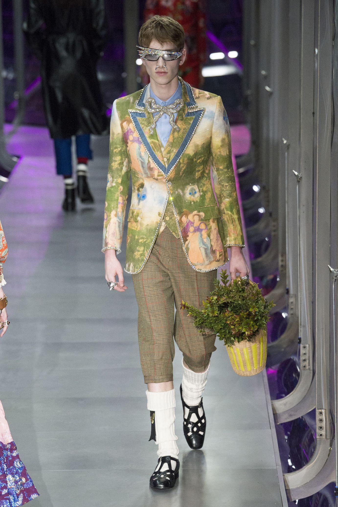 8e2eacaa41965  DéfiléGucci  fashion  Koshchenets Défilé Gucci prêt-à-porter femme automne-hiver  2017-2018 46