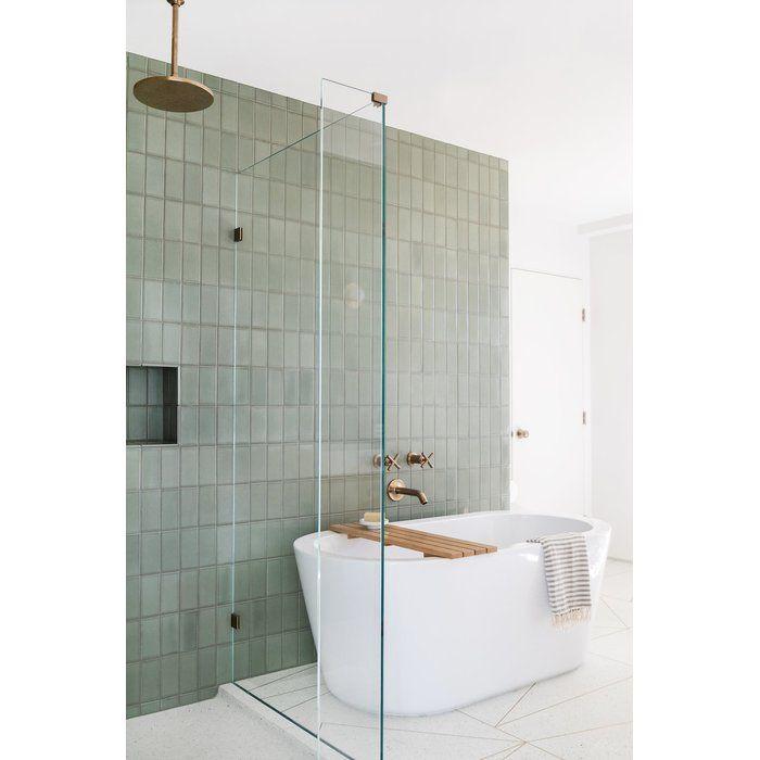 Purist Wall Mount Non Diverter Bath Spout 35 Degrees Bathroom