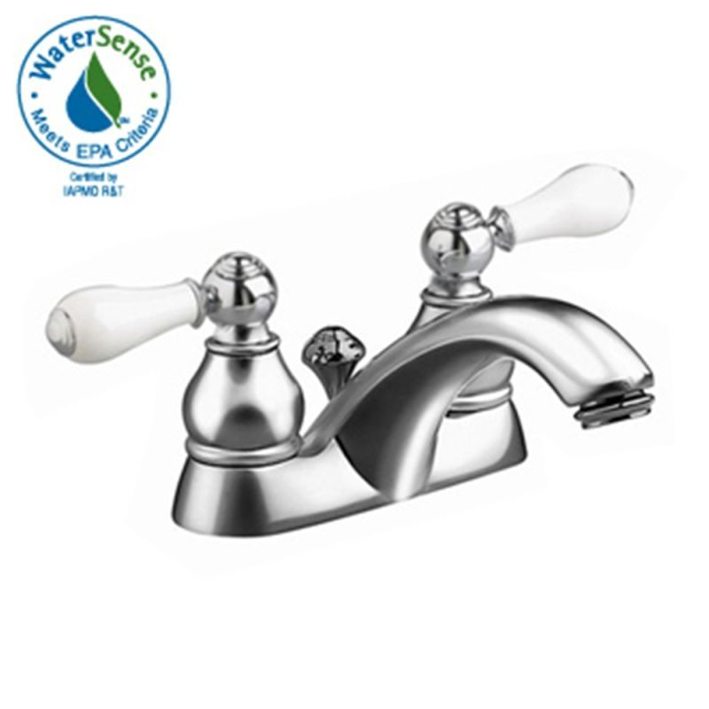American Standard 7411.712 Hampton Centerset Bathroom Faucet with ...