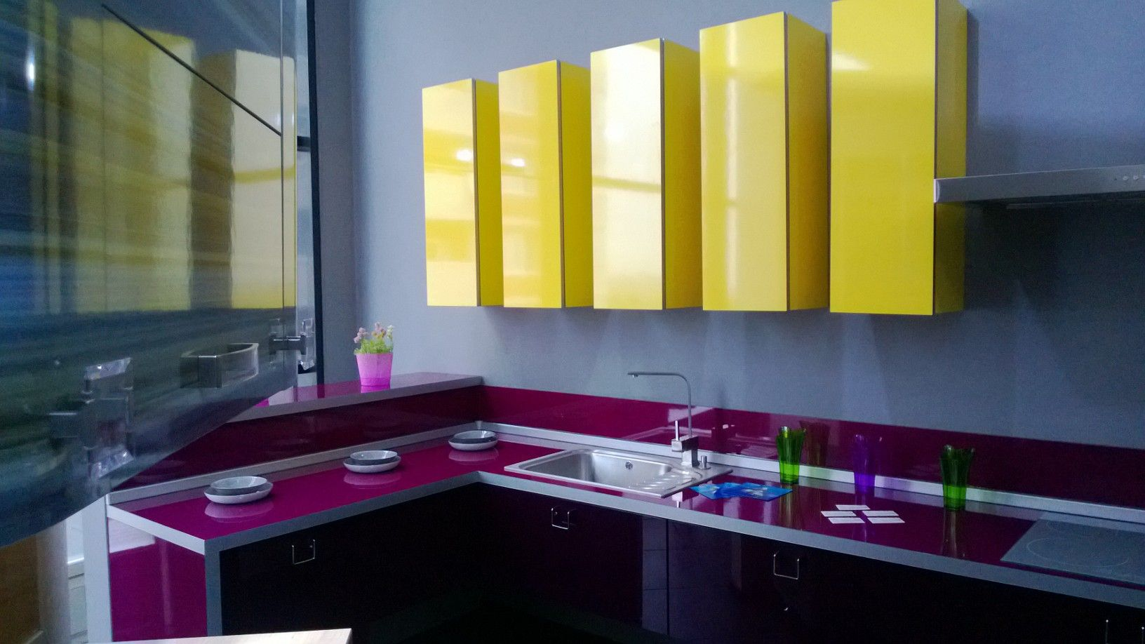 Purple kitchen interior design trends decorating cool ideas