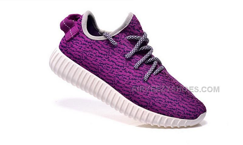 san francisco c4930 479b0 custom adidas yeezy boost 350 kanye west purplewhite sneakers run athletic womens  shoes by customEU on Etsy